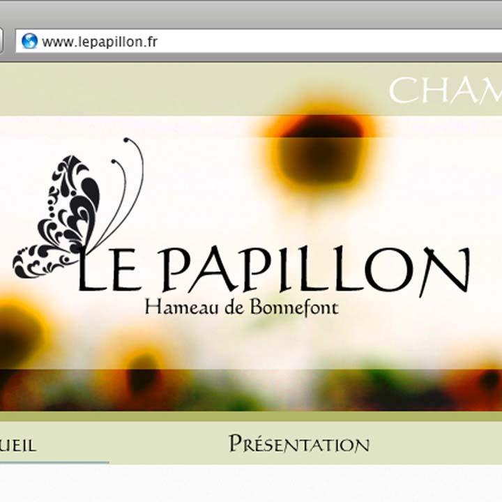 Hameau de Bonnefont > Le papillon